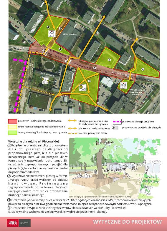 To propozycje dla terenów przy ul. Piecewskiej