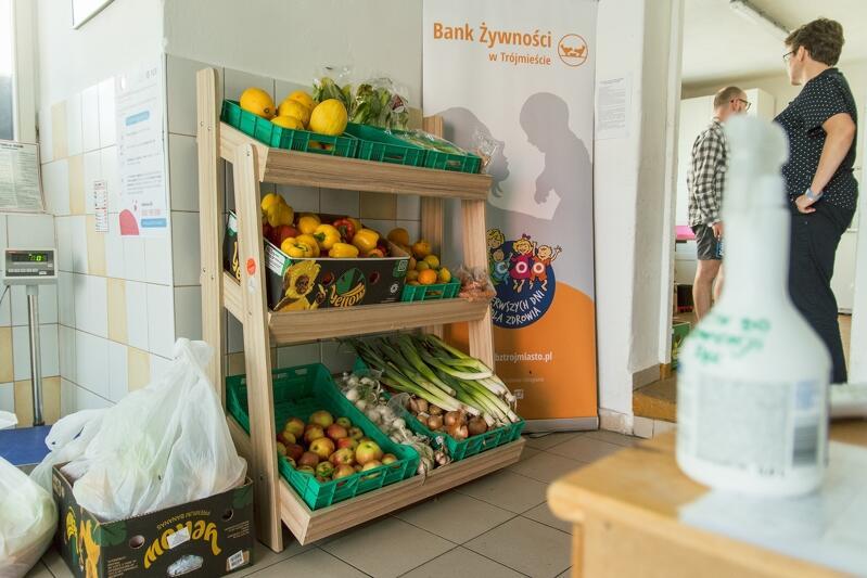 Jeden z dwóch sklepów społecznych, które prowadzi Bank Żywności w Trójmieście to ten przy ul. Wolności 52 w Gdańsku Nowym Porcie