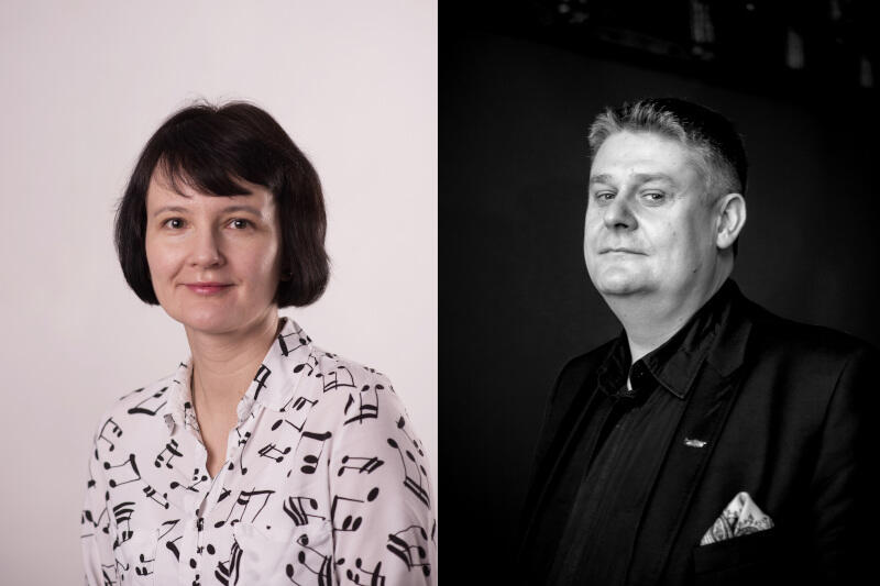Katarzyna Kwiecień-Długosz i Paweł Hulisz