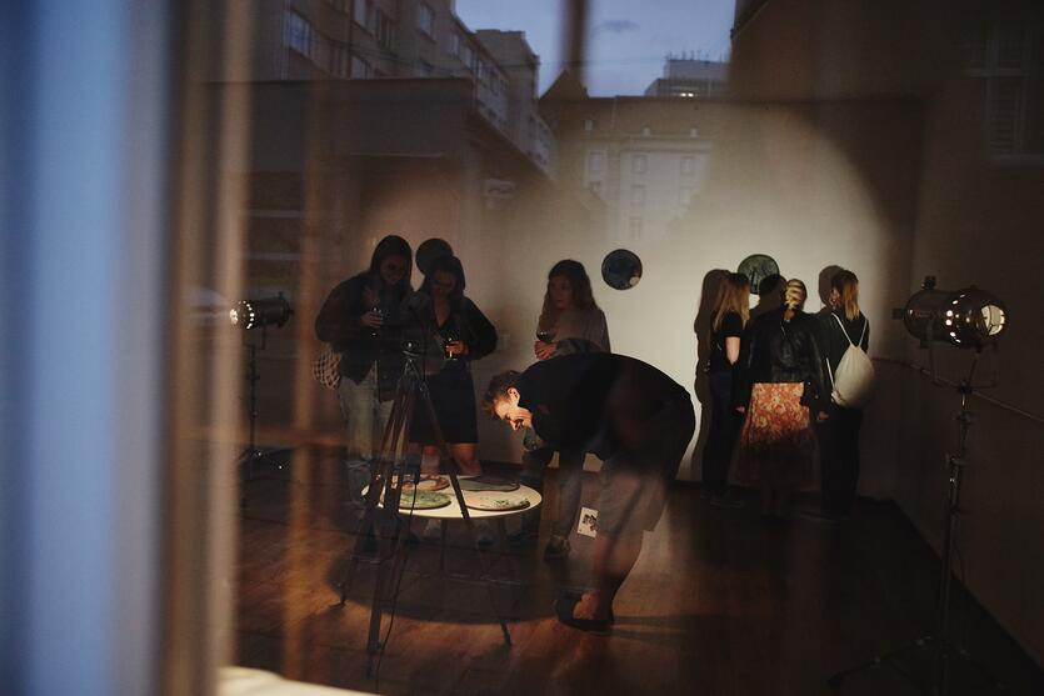 Otwarcie Gdańskiej Otwartej Pracowni - Domu dla kwadratów Marka Rogali, ul. Gdyńskich Kosynierów 10, fot. Daria Szczygieł