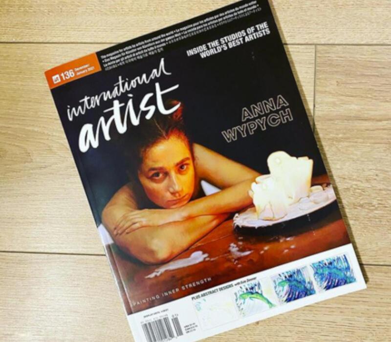 """Obraz trójmiejskiej malarki znalazł się okładce najnowszego numeru """"International Artist Magazine"""" - prestiżowego dwumiesięcznika o sztuce"""
