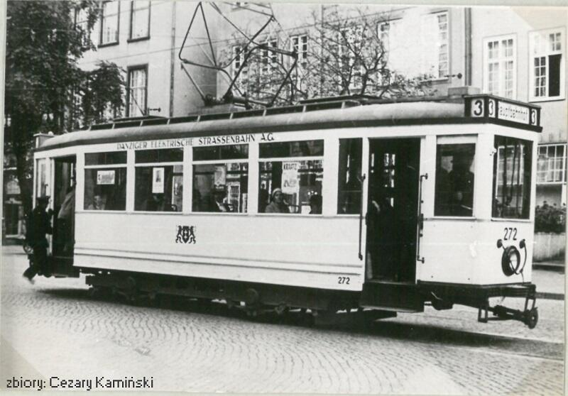 Wagon tramwajowy serii DWF Tw269 Ring , lata 30-te XX wieku