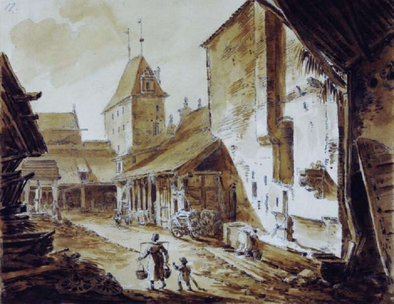 Zygmunt Vogel, Gdański Dwór Miejski, od wewnątrz, 1788