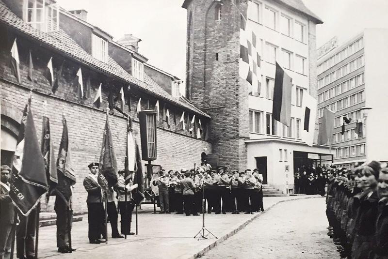 Uroczystość otwarcia Domu Harcerza w Gdańsku, 15 listopada 1970 r.