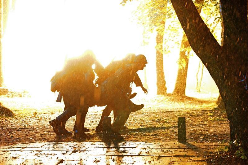 Gdańsk. Westerplatte, Wartownia nr 1 podczas Festiwalu Westerplatte w ramach Spotkań z Historią