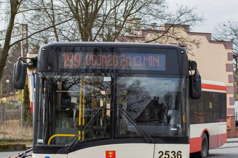 Autobus linii 199 - to jedna z wielu linii autobusowych w Gdańsku, którą od 16 listopada 2020 do odwołania czeka zmiana trasy