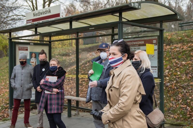 17 listopada odbył się kolejny spacer dzielnicowy z udziałem prezydent Aleksandry Dulkiewicz. Tym razem w Brętowie