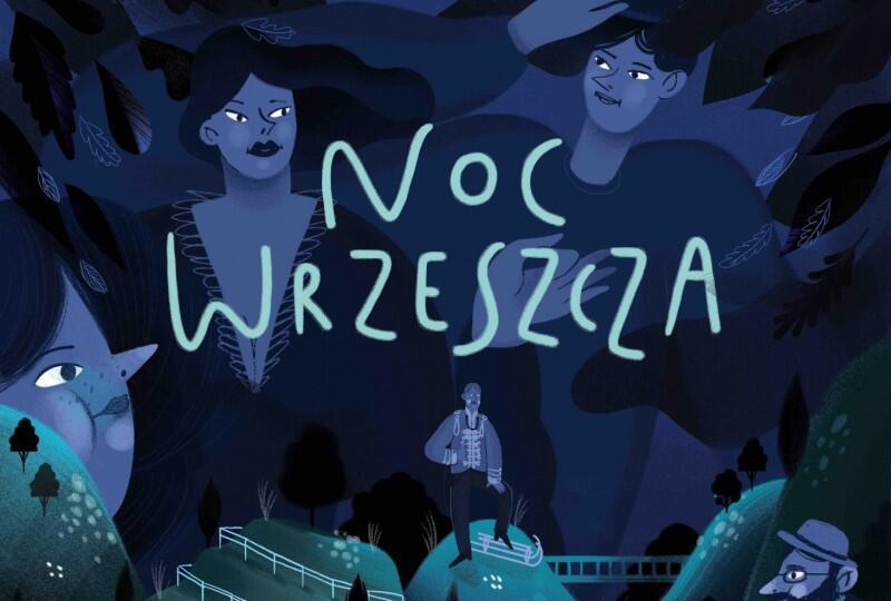 Czwarta edycja Nocy Wrzeszcza nosi tytuł Sen nocy leśnej . To cykl słuchowisk, na które składają się teksty historyczne oraz spacer (wykład) ornitologa Jacka Karczewskiego. Całość będzie dostępna na serwisach streamingowych od 30 listopada do 6 grudnia oraz na płycie CD