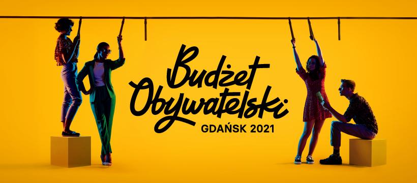 Baner promujący Budżet Obywatelski 2021