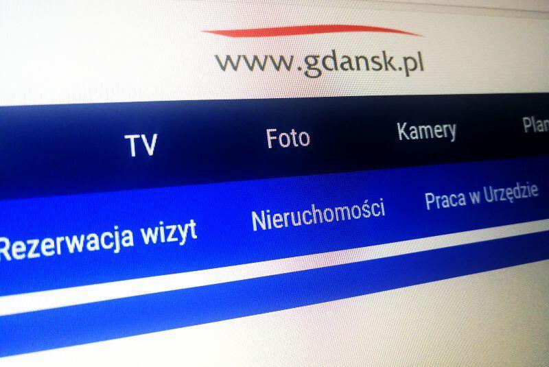Witryna internetowa Miasta Gdańsk