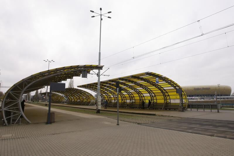 """""""Stadion"""" - taką nazwę od poniedziałku, 23 listopada, nosić będą dotychczasowe przystanki """"Stadion Energa Gdańsk"""""""