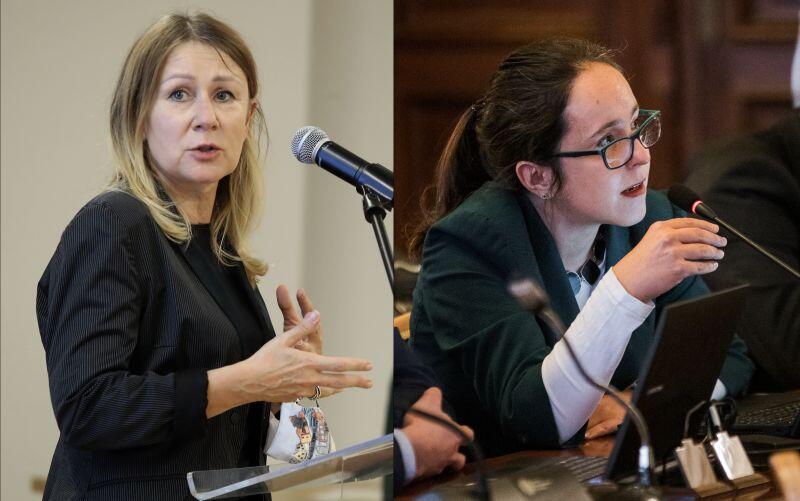 W programie Wszystkie Strony Miasta  rozmawiać będziemy z radnymi: Beatą Dunajewską - WdG (po lewej) i Kamilą Błaszyk