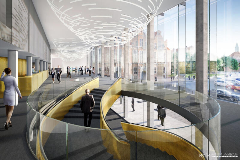 Po modernizacji budynek będzie mógł się pochwalić nowoczesnym wnętrzem