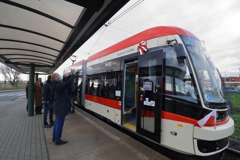 Nowoczesna Pesa Jazz Duo to już 58 gdański tramwaj, który ma swojego patrona