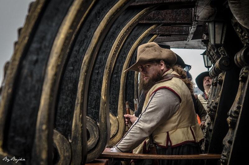 Zdjęcia do filmu powstały na pokładzie galeona Dragon w Gdyni