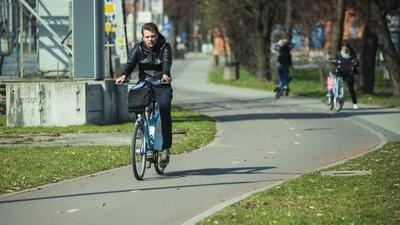 Wyremontowana droga rowerowa przy al. Zwycięstwa