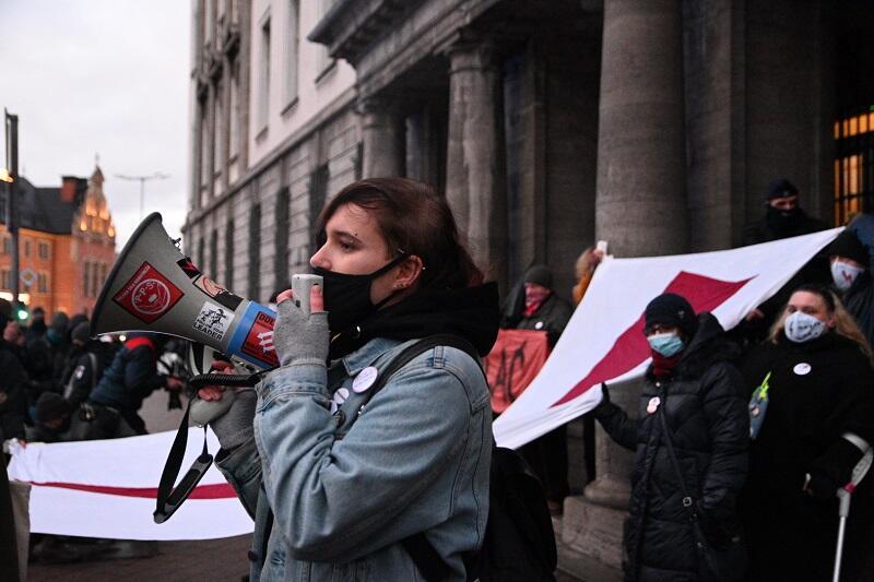 Prokuratura Okręgowa w Gdańsku, 28 listopada 2020, Strajk Kobiet