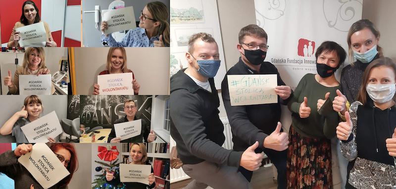Czy Gdańsk zostanie Europejską Stolicą Wolontariatu ? Dowiemy się tego 5 grudnia podczas gali emitowanej na portalu gdansk.pl. Każdy kto chciałby wyrazić swoje wsparcie, może to zrobić umieszczając w mediach społecznościowych zdjęcie z #gdanskstolicawolontariatu