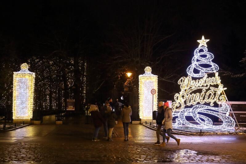 Wejście do Parku Oliwskiego