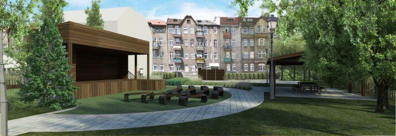 W ramach inwestycji zagospodarowany zostanie także teren wokół budynku