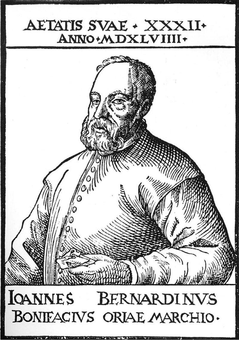 Giovanni Bernardino Bonifacio, markiz d'Oria