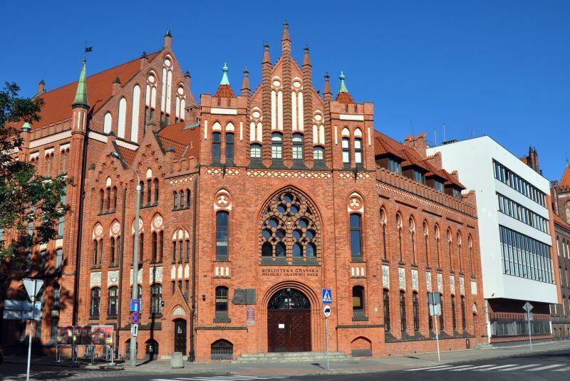 PAN Biblioteka Gdańska, to księgozbiór Bonifacio d'Oria dał jej początek