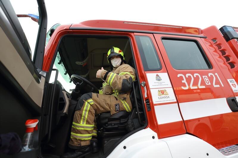 Nowe wozy strażackie będą dużym wsparciem dla Ochotniczych Straży Pożarnych w Świbnie i Wyspie Sobieszewskiej