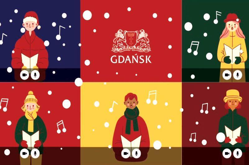Billboard promujący tegoroczne Doroczne Obywatelskie Spotkanie Gdańszczan