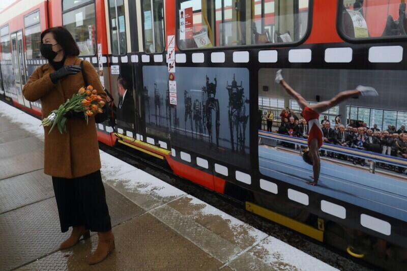 Zdjęcia Zbigniewa i Macieja Kosycarzów jako ozdoba gdańskiego tramwaju