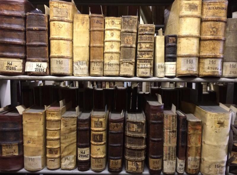 W bibliotece PAN przy ul. Wałowej znajdują się wszystkie drukowane dzieła Jana Heweliusza