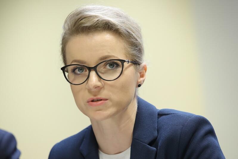Olga Goitowska zastępczyni dyrektora Wydziału Gospodarki Komunalnej w Urzędzie Miejskim w Gdańsku