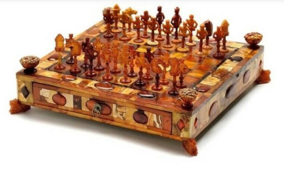 Gdańskie szachy, prawdopodobnie warsztat Michaela Redlina, około 1690