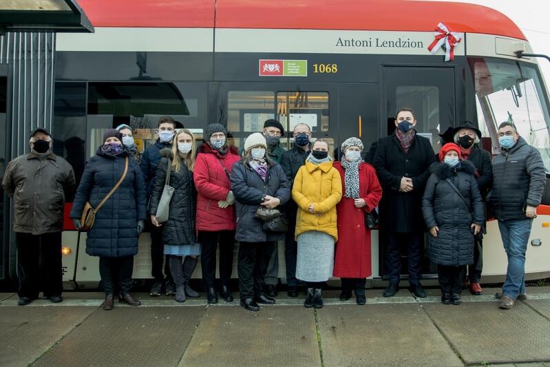 To już 61 gdański tramwaj mający swojego patrona