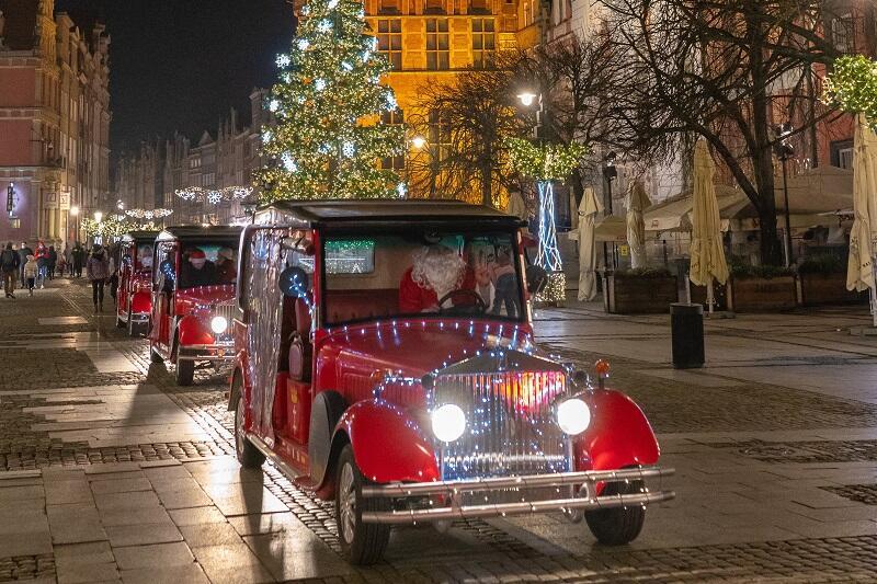 `Historyczne` meleksy Retro Gdańsk w świątecznym przybraniu, 23 grudnia 2020