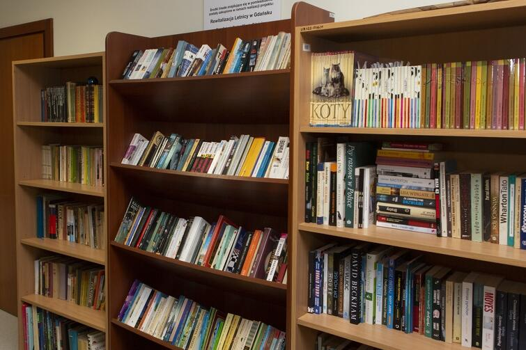 Społeczna biblioteka działa w Letnicy, przy ul. Uczniowskiej 22