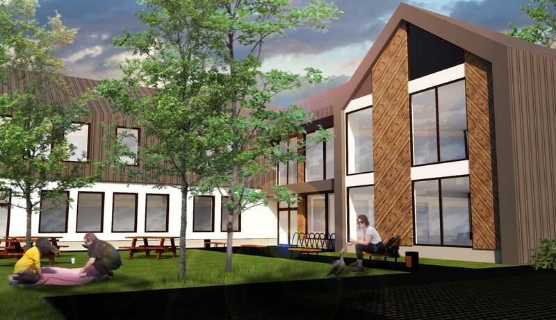 Budynek ma być gotowy w połowie 2022 roku. Część kosztów inwestycji zostanie pokryta dzięki dofinansowaniu z Unii Europejskiej