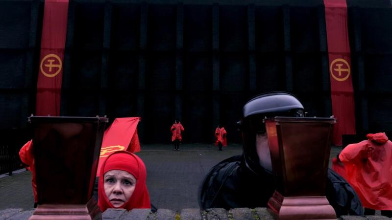 """""""Romeo i Julia"""" w reżyserii Macieja Konopińskiego to najnowsza premiera Gdańskiego Teatru Szekspirowskiego. Niestety, na razie tylko wirtualna"""
