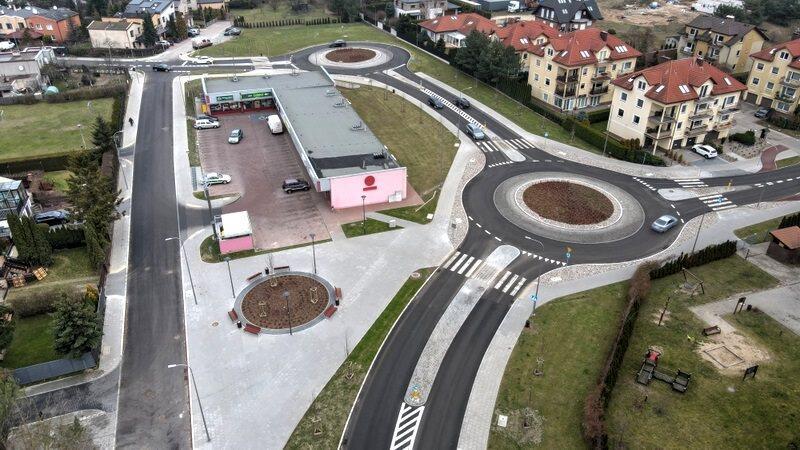 Nowy układ drogowy na gdańskiej Osowej