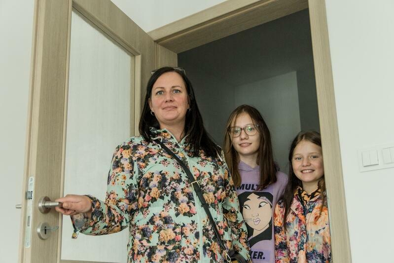 Pani Anna Smorawska i jej córki Martyna i Pola we wrześniu 2020 r. zamieszkaly w Letnicy
