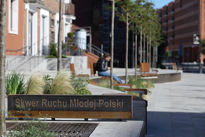 Nowy Skwer Ruchu Młodej Polski w gdańskim śródmieściu