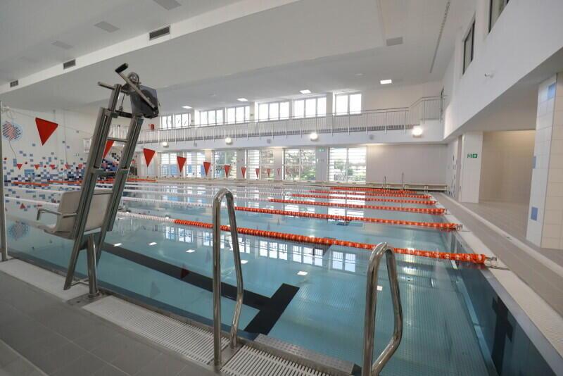 Wyremontowany basen w Zespole Szkół Energetycznych w Gdańsku