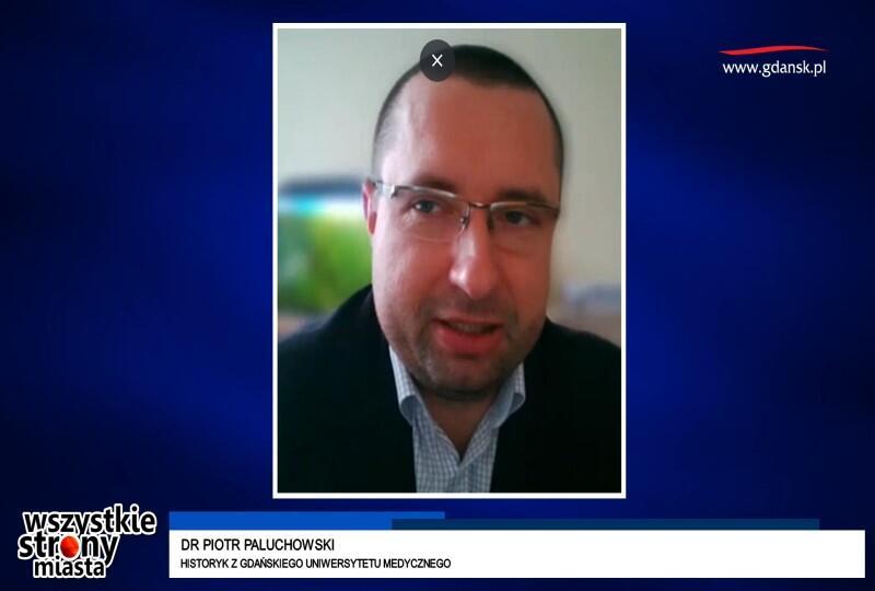 Dr Piotr Paluchowski zajmuje się na GUMed m.in. historią medycyny