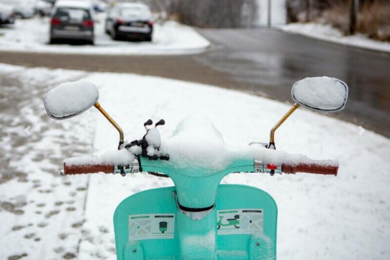 Pierwszy w 2021 opad śniegu i śniegu z deszczem był tak naprawdę w Gdańsku pierwszym większym opadem śniegu całego sezonu zimowego
