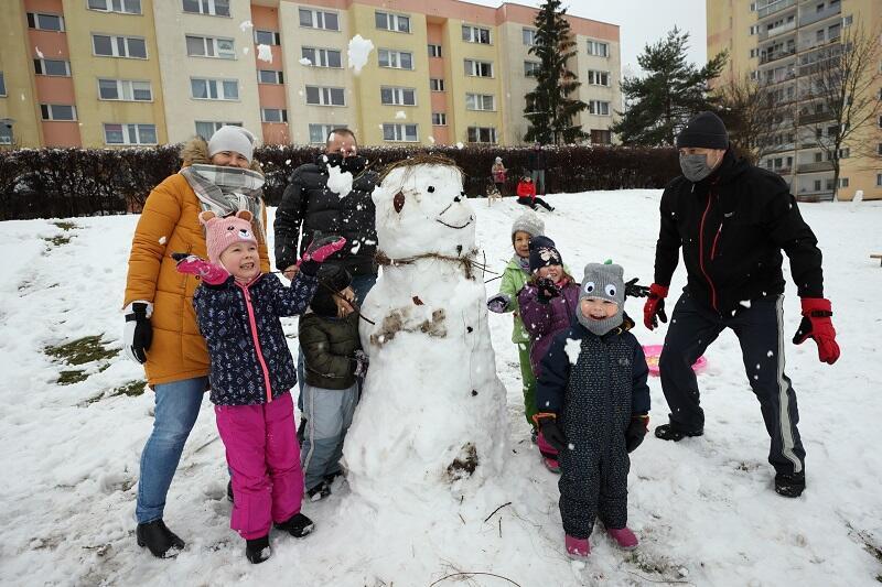 Piecki - Migowo: zimowa rodzinna radość
