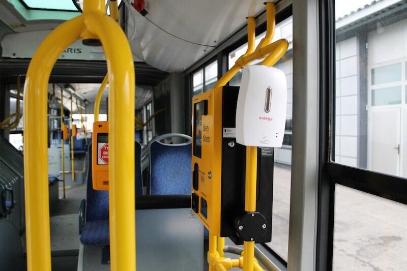 Urządzenia, które pojawią się w gdańskich autobusach i tramwajach zostaną zakupione przez GAiT