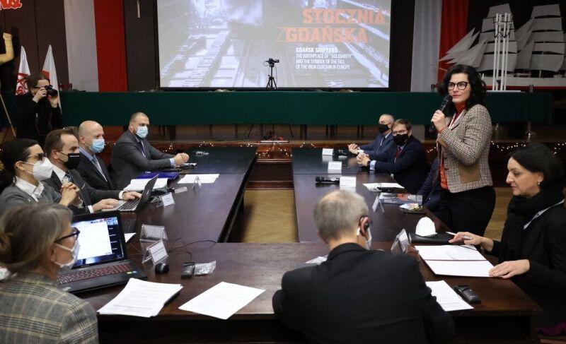 Sala BHP. Spotkanie z przedstawicielami ICOMOS