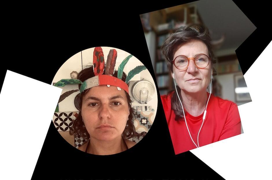 Emilia Orzechowska (z lewej) i Bogna Świątkowska zostały kuratorkami przyszłorocznej, 13. edycji festiwalu Narracje