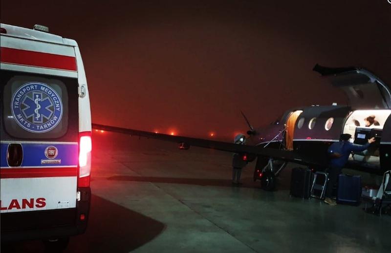Dzięki sprawnej akcji logistycznej życie uratowano dwóm osobom