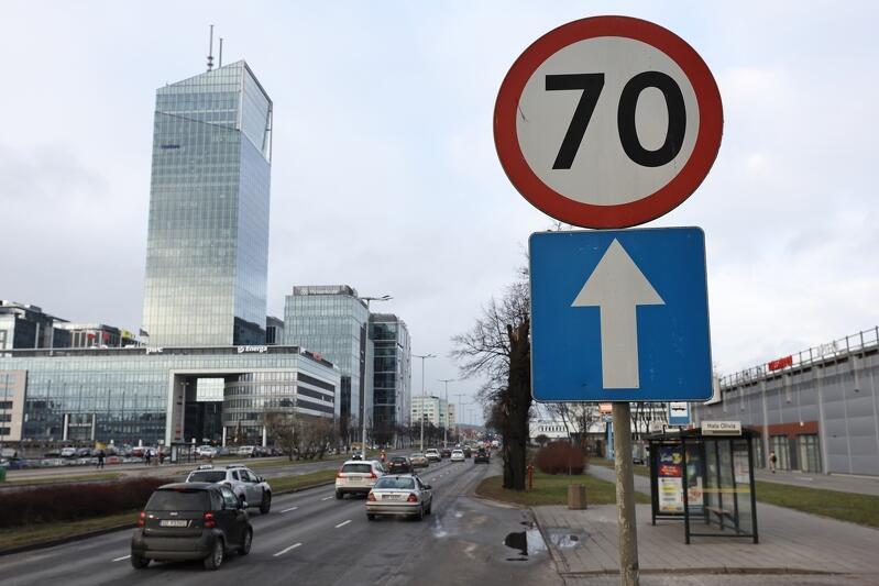 Radni Oliwy chcą ograniczenia prędkości na oliwskim odcinku al. Grunwaldzkiej