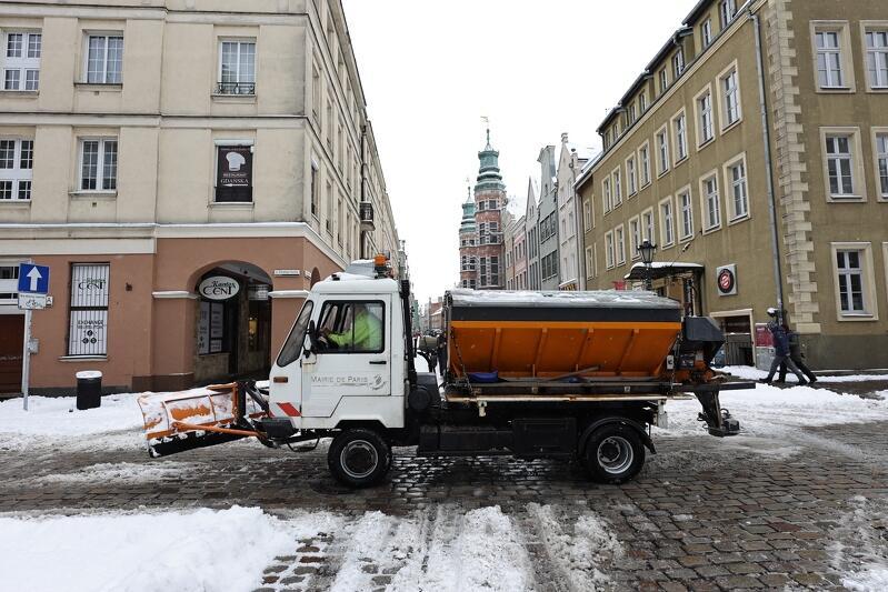 Na łagodzenie skutków zimy w tym roku Gdańsk zaplanował ponad 16 mln zł
